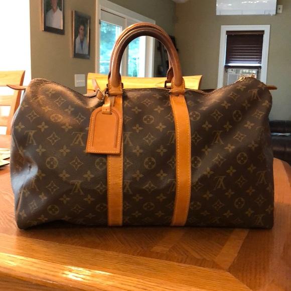 196fc3af270 Louis Vuitton Handbags - Vintage Louis Vuitton travel bag.